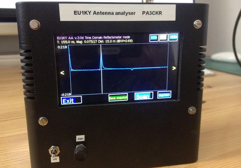 PC2C Antenna Analyzer SMT32F746 EU1KY DH1AKF